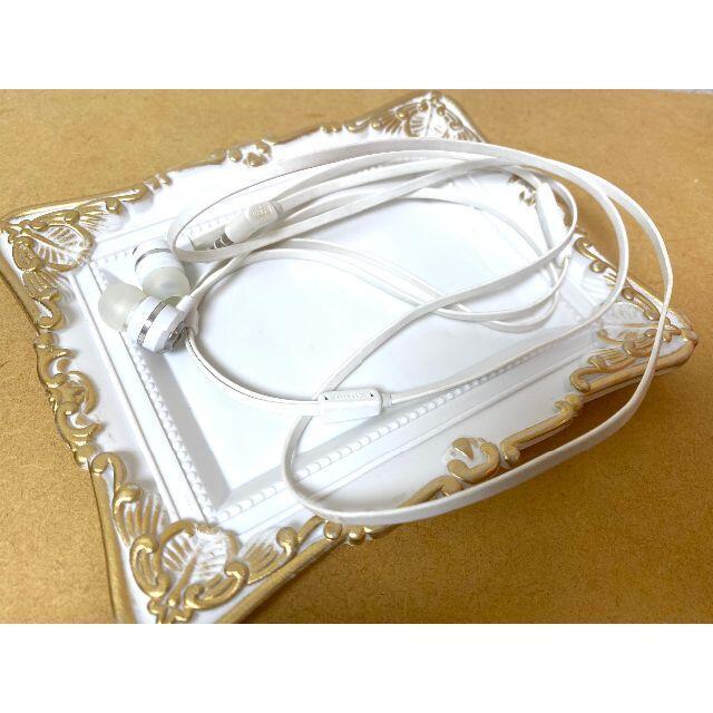 audio-technica(オーディオテクニカ)のMUIX デュアルサウンド カナル型イヤホン IX1000 ホワイト  スマホ/家電/カメラのオーディオ機器(ヘッドフォン/イヤフォン)の商品写真