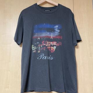 バレンシアガ(Balenciaga)のバレンシアガ/BALENCIAGA17AW パリプリントオーバーサイズTシャツ(Tシャツ/カットソー(半袖/袖なし))