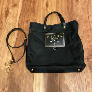 PRADA - プラダ ナイロン 2way トートバッグ 美品 ショルダーバッグ 正規品