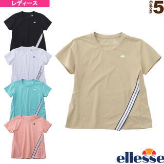 エレッセ(ellesse)のエレッセ Ellesse テニスウェア レディース ストレッチラインクルーシャツ(ウェア)