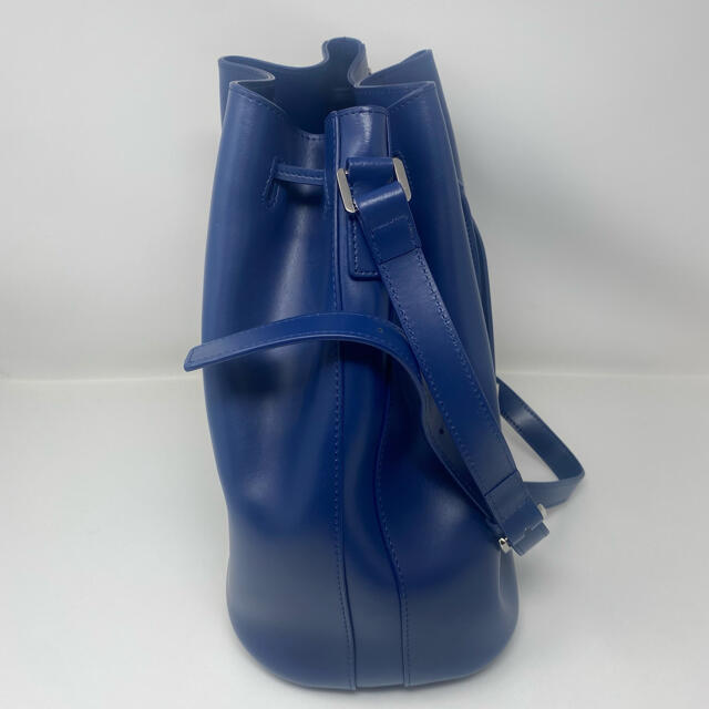 agnes b.(アニエスベー)の未使用☺︎agnes b.  voyage アニエスベー 巾着 バッグ ネイビー レディースのバッグ(トートバッグ)の商品写真
