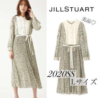 JILLSTUART - 【美品】2021SS 新作 ジルスチュアート ロミーフラワーワンピース 完売品