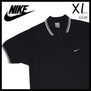 ナイキ(NIKE)の値下げ交渉あり‼︎ XL NIKE ナイキ ポロシャツ ブラック 1262(ポロシャツ)