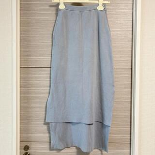 ロンハーマン(Ron Herman)のオーラリー サイドスリットタイトスカート(ひざ丈スカート)