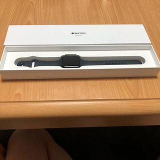 Apple - Apple Watch series3 GPSモデル42mm 美品
