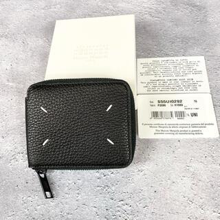 Maison Martin Margiela - 100%本物 Maison Margiela 四つタグ 折り財布 ミニウォレット