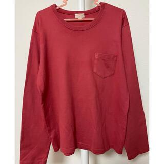 テンダーロイン(TENDERLOIN)のButcher products plain tee pocket アットラスト(Tシャツ/カットソー(七分/長袖))