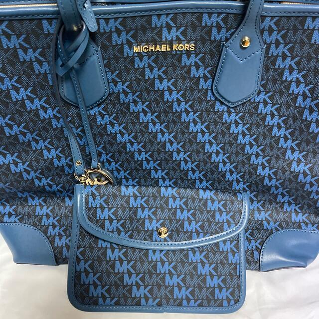 Michael Kors(マイケルコース)のMK トートバック新品・未使用・美品 最終価格 レディースのバッグ(トートバッグ)の商品写真