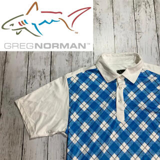 PEARLY GATES - 【GREG NORMAN】グレッグノーマン チェック切り替え 半袖ポロシャツ