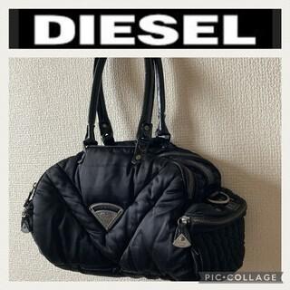 ディーゼル(DIESEL)のディーゼル☆ナイロン エナメル 黒 バッグ(ショルダーバッグ)