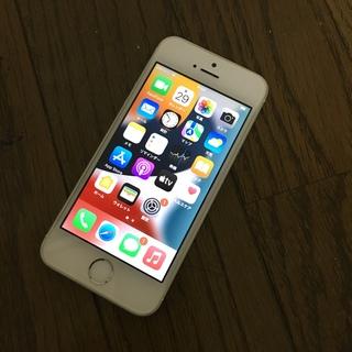 iPhone - iPhone se 32GB キャリアau シルバー