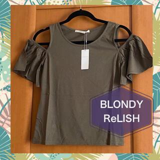 blondy - 新品♡BLONDY ReLISH♡日本製カットソー♡吸湿性放湿性の良い生地です