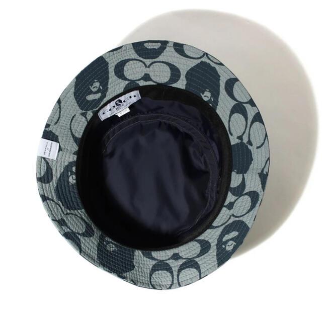 A BATHING APE(アベイシングエイプ)のBAPE®️✖️COACH  BUCKET HAT size L メンズの帽子(ハット)の商品写真