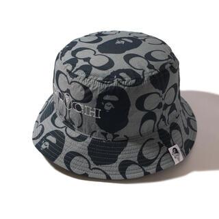 A BATHING APE - BAPE X COACH BUCKET HAT  size M