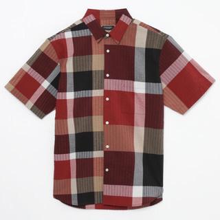 BLACK LABEL CRESTBRIDGE - リネンサッカークレストブリッジチェックドッキングシャツ