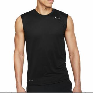 NIKE - 新品 NIKEドライフィット レジェンド ノースリーブTシャツ ブラック 黒XL