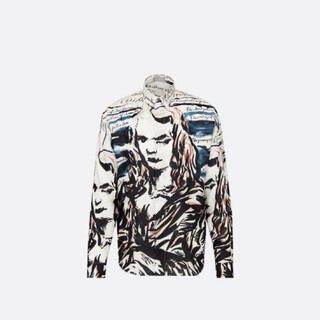DIOR HOMME - Dior 19aw Raymond pettibon コラボ シルク シャツ