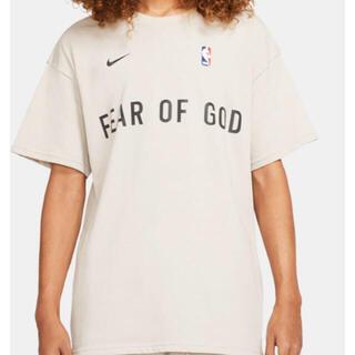 フィアオブゴッド(FEAR OF GOD)のNIKE FEAR OF GOD オートミール S(Tシャツ/カットソー(半袖/袖なし))