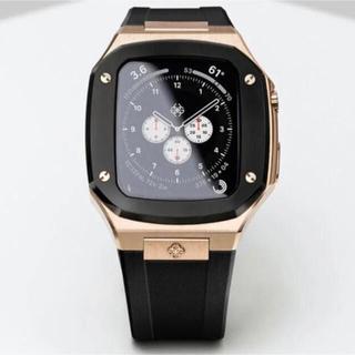 Apple Watch - Golden concept   ローズゴールド×ブラック44mm