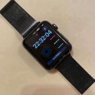 Apple Watch - Apple*Watch*Series 3*42mm*スペースグレイ*ミラネーゼ…