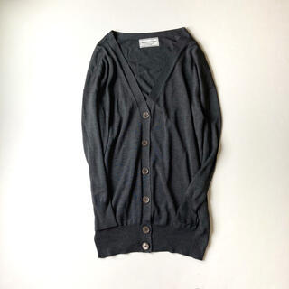 DEUXIEME CLASSE - 美品✨ドゥーズィエムクラス Vネック シルクカーディガン silk 絹 羽織り