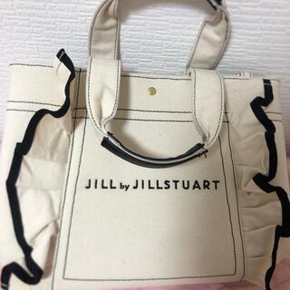 JILL by JILLSTUART - JILLByJILLSTUART フリルトートバッグ 大