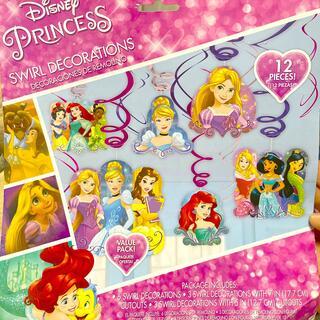 ディズニー(Disney)のプリンセス 誕生日飾り(その他)