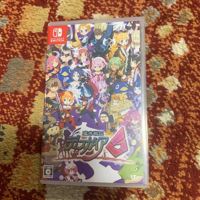 Nintendo Switch(ニンテンドースイッチ)の魔界戦記ディスガイア6 Switch エンタメ/ホビーのゲームソフト/ゲーム機本体(家庭用ゲームソフト)の商品写真