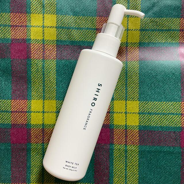 shiro(シロ)のshiro ホワイトティー ボディミルク 新品未使用 コスメ/美容のボディケア(ボディローション/ミルク)の商品写真