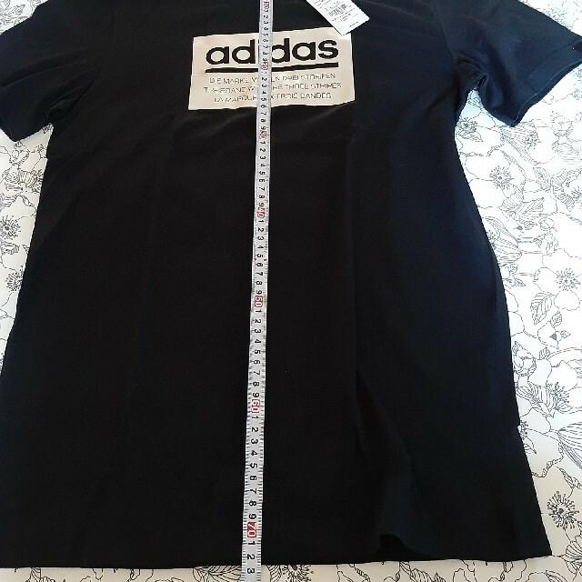 adidas(アディダス)のアディダスTシャツ 黒 メンズのトップス(Tシャツ/カットソー(半袖/袖なし))の商品写真