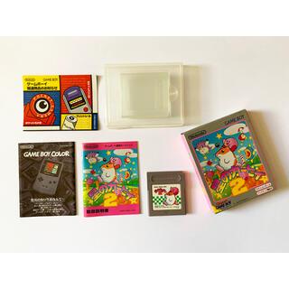 ゲームボーイ(ゲームボーイ)のGB 星のカービィ2 箱説あり GameBoy Kirby Dream Land(携帯用ゲームソフト)