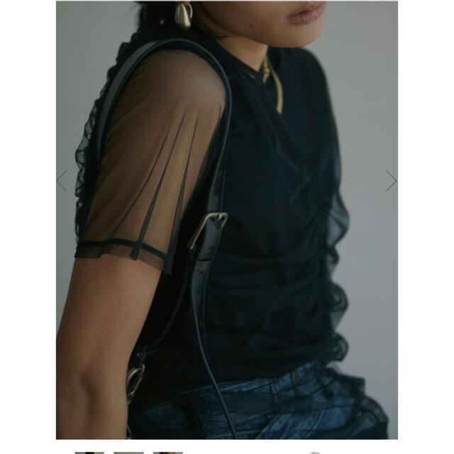 Ameri VINTAGE(アメリヴィンテージ)のAmeri シアーカットソー レディースのトップス(カットソー(半袖/袖なし))の商品写真