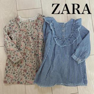 ZARA - ZARA baby ワンピース 2点セット 80