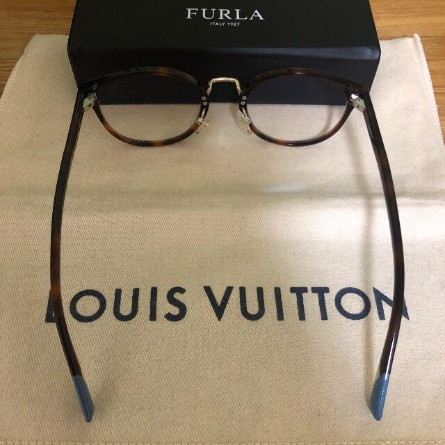 Furla(フルラ)のFURLA メガネフレーム VFU322J  ダミーレンズ付き レディースのファッション小物(サングラス/メガネ)の商品写真