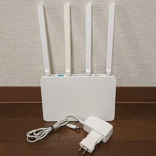 Xiaomi WiFiルータ Mi Router3 簡易NAS機能付き(PC周辺機器)