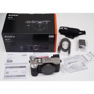 SONY - SONY α7Cカメラ*シルバー*美品保証付き*