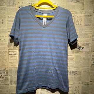 アタッチメント(ATTACHIMENT)のATTACHMENT アタッチメント ボーダーTシャツ 半袖Tシャツ 1(Tシャツ/カットソー(半袖/袖なし))