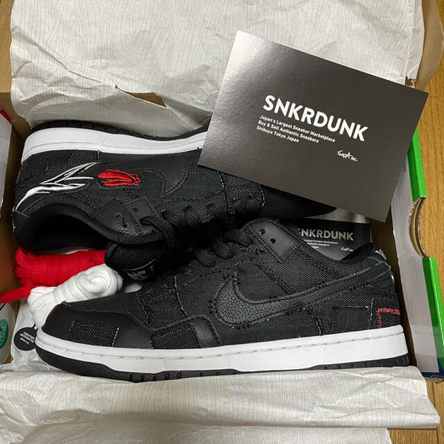 NIKE(ナイキ)のwasted youth nike sb 26.0 メンズの靴/シューズ(スニーカー)の商品写真