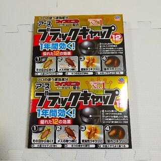 アースセイヤク(アース製薬)のアース ブラックキャップ12個入り 2箱セット(日用品/生活雑貨)