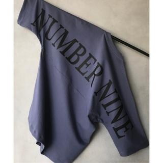 ナンバーナイン(NUMBER (N)INE)のナンバーナイン 別注 ビッグシルエット ロゴ バックプリント ハーフスリーブ(Tシャツ/カットソー(半袖/袖なし))