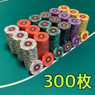 EPT セラミックポーカーチップ カジノチップ 300枚(トランプ/UNO)