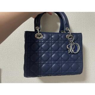 Christian Dior - レディディオール ネイビー 付属袋付き