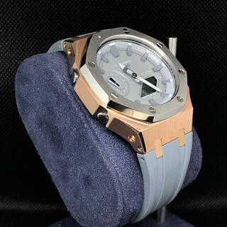 ジーショック(G-SHOCK)のGA-2110本体付き ラバーベルトセット カシオーク カスタム Gショック(腕時計(アナログ))