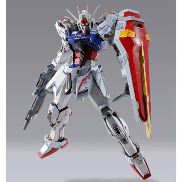 BANDAI(バンダイ)の【2点セット】METAL BUILD エールストライクガンダム 10th Ver エンタメ/ホビーのおもちゃ/ぬいぐるみ(模型/プラモデル)の商品写真