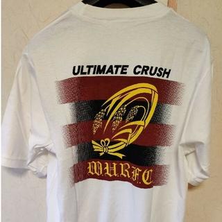 adidas - 早稲田大学ラグビー蹴球部 2003年 荒ぶるTシャツ
