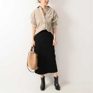 フレームワーク(FRAMeWORK)の美品 フレームワーク タイトスカート(ひざ丈スカート)