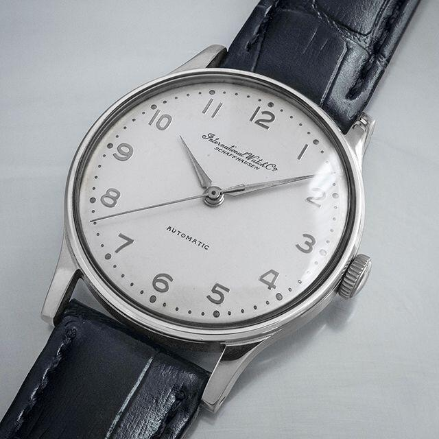 IWC(インターナショナルウォッチカンパニー)の(656) OH済美 ★ IWC 自動巻 全数字★ 日差1秒 1951年 メンズの時計(腕時計(アナログ))の商品写真