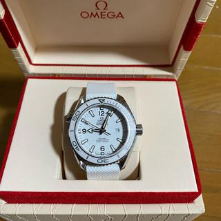 OMEGA - OMEGA シーマスター プラネットオーシャン  ホワイト 37.5mm