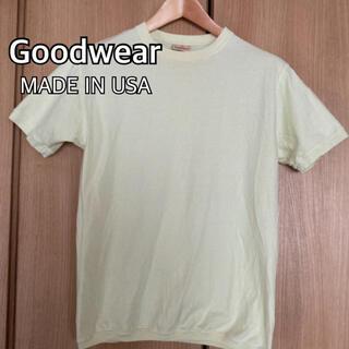 Goodwear グッドウエア M Tシャツ USA製 リブTシャツ
