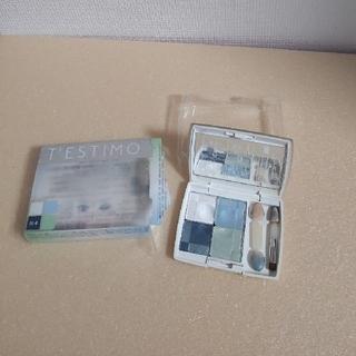 カネボウ(Kanebo)の【used】カネボウテスティモスタイリングアイズN-4ブルー×グリーン系(アイシャドウ)